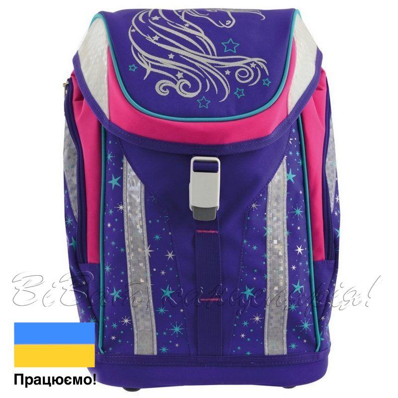f7d4f8e01579 Рюкзак школьный каркасный Yes H-30 Unicorn, с магнитным замком (556221)