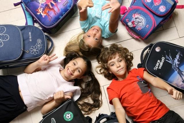 Детки и рюкзаки
